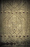 Close-up image of ancient doors Stock Photo