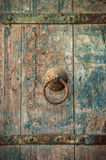 Close-up image of ancient doors Stock Photography