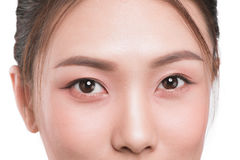 Close-up image of asian eyes. Close-up image of asian eyes Stock Images