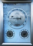 Close-up image of a barometer Stock Photo