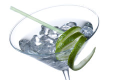 Close up image of a cocktail drink Stock Images
