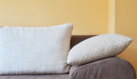 Close up image of decorative colorful pillow Royalty Free Stock Photography
