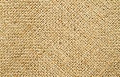 Close up image of hessian. Sack stock images