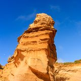 Close up image of Loch Ard Gorge. Port Campbell National Park on Great Ocean Road, Victoria, Australia royalty free stock photography