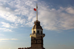 Close up image Maiden's Tower in Istanbul Stock Image