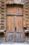 Close-up image of the old door Stock Photos