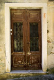 Close-up image of old doors Royalty Free Stock Image