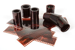 35 mm negative film strip Stock Photo