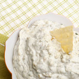 Close Up Image of Parmesan Artichoke Dip Royalty Free Stock Images