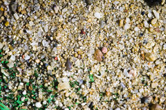 Close-up image of sand on football field Stock Images