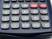 Scientific calculator isolated royalty free stock photography