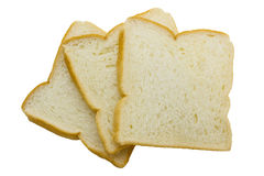 Close-up image of slice of white bread Stock Photo