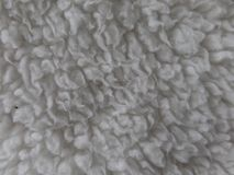 Close up image of a soft fluffy blanket stock images