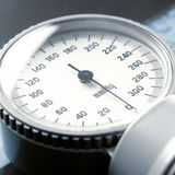 Close-up image of a sphygmomanometer royalty free stock photo