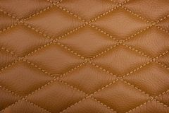 Textured leather back ground stock photography
