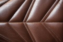 Textured leather back ground stock images