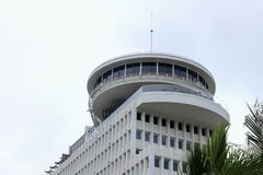 Close up image of the `Top of Waikiki` iconic revolving restaurant Royalty Free Stock Image