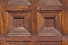 Close-up image of an wooden door Royalty Free Stock Photo