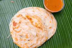 Close up of indian chapati bread Royalty Free Stock Photo