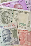 Close up of Indian Currencies Shot in Studio Stock Image