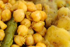Close up of Indian food ingredients Royalty Free Stock Images