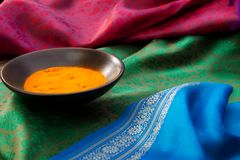 Close-up of Indian spices Royalty Free Stock Photography