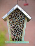 Close up insect hotel Royalty Free Stock Photo