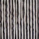 Close up inside of dirty air filter Stock Images