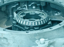 Close-up Inside of gearbox Royalty Free Stock Image