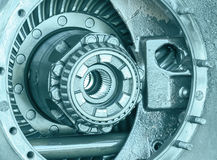 Close-up Inside of gearbox Stock Photography