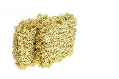 Close up instant noodle Stock Images