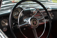 Close up Interior 1950 buick roadmaster. Interior 1950 buick roadmaster 76c  convertible close up Stock Photography