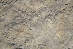 Close up of intricate texture of rock formation as background. Royalty Free Stock Photo