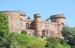 Close up Inverness Castle Royalty Free Stock Images