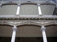 Close up of Iolani Palace stock images