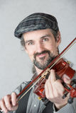 Close Up of Irish Fiddler Stock Photography