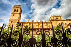 San Jeronimo Monastery Granada Stock Photography