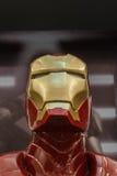 Close-up, Iron Man model. Royalty Free Stock Photography