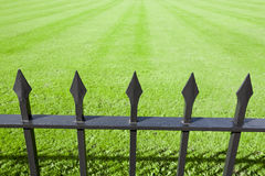 Park Iron Railings Royalty Free Stock Photos