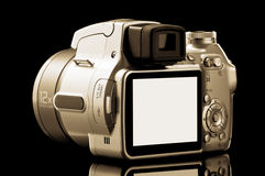 Close Up Isolated Photo Video Camera Stock Image
