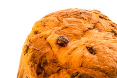 Close up italian christmas cake called panettone royalty free stock photos