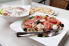 Close up of italian mixed salad Stock Images