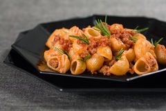 Close Up Of Italian Pasta Royalty Free Stock Images