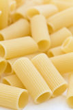 Close up italiano do rigatoni Imagens de Stock