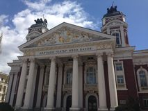 Close up from the Ivan Vazov National Theatre Royalty Free Stock Photos