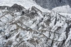 Close up of Jade Dragon Snow Mountain Royalty Free Stock Image