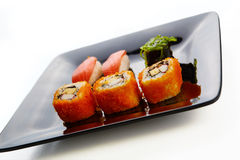 Japan style dish Royalty Free Stock Image