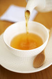 Close up japanese hot tea Stock Images