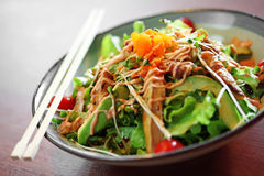 Close up japanese salad Stock Image