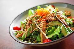 Close up japanese salad Royalty Free Stock Image
